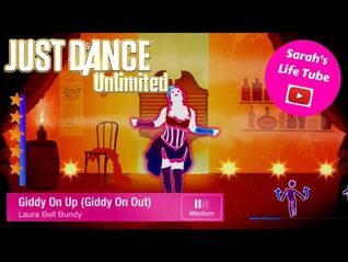 Giddy On Up (Giddy On Out), Laura Bell Bundy - 5 STARS - Gameplay - Just Dance 3 Unlimited -PS5-
