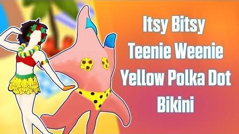 Itsy Bitsy Teenie Weenie Yellow Polka Dot Bikini (HUD Only) - 舞力全开:活力派 (Modded Gameplay)
