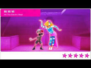 Just Dance 2021 Unlimited Mi Mi Mi 5 Stars + Megastar PS4 Gameplay Phone Mode