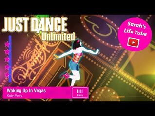 Waking Up In Vegas, Katy Perry - MEGASTAR, 2-2 GOLD - Just Dance 2014 Unlimited -PS5-