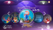 Mario jd3 menu