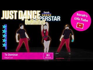 Te Dominar, Daya Luz - SUPERSTAR, 3-3 GOLD - Just Dance 2017 Unlimited -PS5-