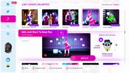 Girlsjustwant jd2019 menu