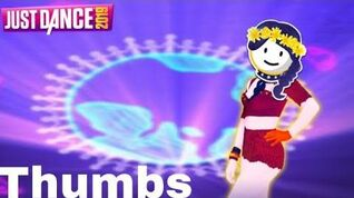 Just Dance 2019 - Thumbs by Sabrina Carpenter w lyrics - 5 Stars