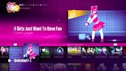 Girlsjustwant jd2017 menu
