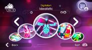Idealistic jd2 menu