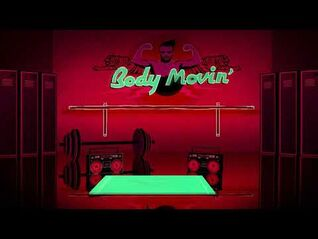Body Movin' (Fatboy Slim Remix) background - Just Dance Greatest Hits - Best Of (Wii)