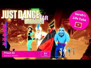 Prince Ali, Disney's Aladdin - MEGASTAR, 2-2 GOLD, P2 - Just Dance 2014 Unlimited -PS5-