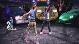 Lean Back - The Hip Hop Dance Experience (No GUI)