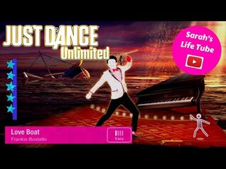 Love Boat, Frankie Bostello - SUPERSTAR, 2-2 GOLD - Just Dance 2014 Unlimited -PS5-