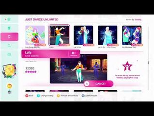Just Dance 2020 (Unlimited) Leila 5*'s Gameplay