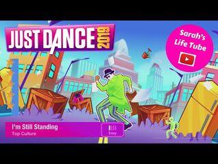 I'm Still Standing, Top Culture - 5 STARS - Gameplay - Just Dance 2019 -WiiU-