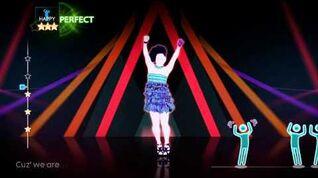 Just Dance 4 DLC - So Glamorous - The Girly Team - 5 Stars