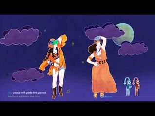 Aquarius-Let The Sunshine In - The Sunlight Shakers - Just Dance 2021