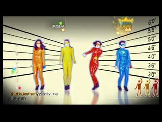 Just Dance 4 Wii Gameplay - The Girly Team- Oops!.