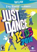 Just Dance Kids 2014 Box Art (NTSC Wii U)