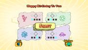 Birthday jdk start
