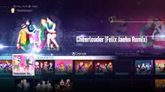 Cheerleader jd2016 menu