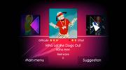 Dogsout jd1 menu