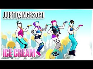 Just Dance 2021- Ice Cream - Gameplay ( PlayStation Camera ) MEGASTAR