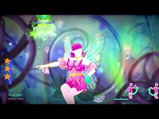 Just Dance 2021- Rare (Fairy Version) Megastar