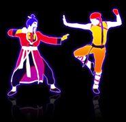Kungfufightingdancers