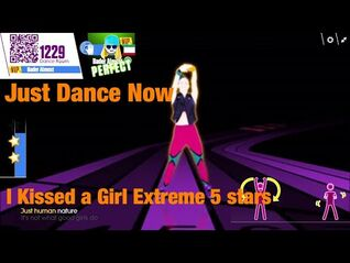 Just Dance Now I Kissed a Girl Extreme 5 stars