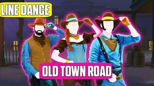 Old Town Road Line Dance Just Dance 2020