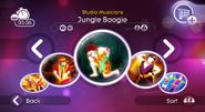 Jungleboogie jd2 menu