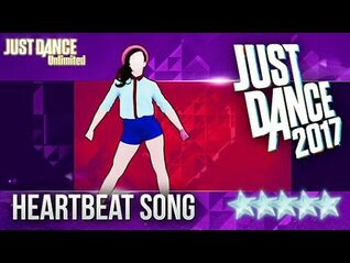 Just Dance 2017 - Heartbeat Song by Kelly Clarkson SUPERSTARS Gameplay