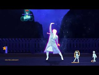Just Dance 2021 Unlimited - Into The Unknown Disney's Frozen II
