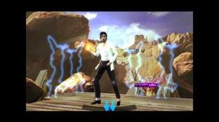 Michael Jackson The Experience Black or white (3DS version)