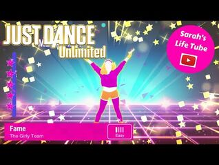 Fame, The Girly Team - MEGASTAR, 4-4 GOLD - Just Dance 1 Unlimited -PS5-