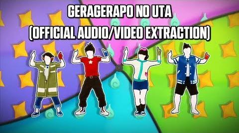 Geragerapō No Uta (Extract) - King Cream Soda - Just Dance Yo-kai Watch Edition