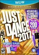 Just dance 2017 wii u gold boxart