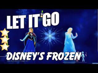 🌟 Just Dance 2015- Let It Go - Disney's Frozen Cover by Nicki Gonzalez 🌟