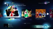 Just Dance 2015 menu 1