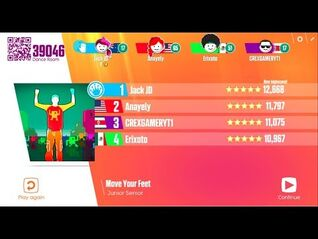 Just Dance Now - Move Your Feet - All Perfects