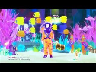 Just Dance 2017 Cake By The Ocean