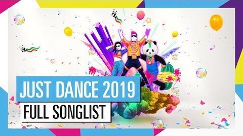 Full Song List - Just Dance 2019 (UK)