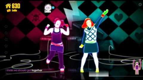 Girlfriend - Just Dance Now