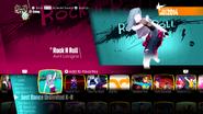 Rocknrolldlc jd2018 menu