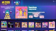 CopaCabana jdnow menu old