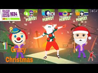 Crazy Christmas 🎄🎅🕺 Just Dance Now 👯 kids dance