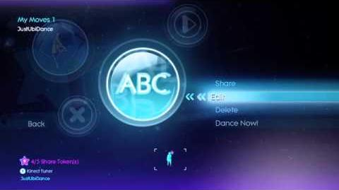 How to use Just Create on Kinect for Xbox 360 - Just Dance 3