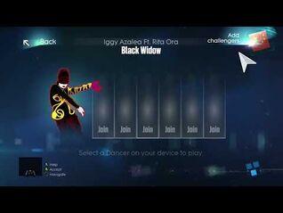 Just Dance 2015 (xbox one) - Black Widow