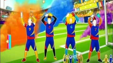 JUST DANCE 2018 FOOTBALL VERSION Waka Waka 5 SUPERSTARS (Wii)