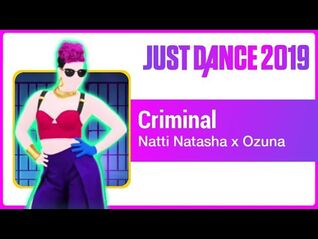 Just Dance 2019 (Unlimited)- Criminal