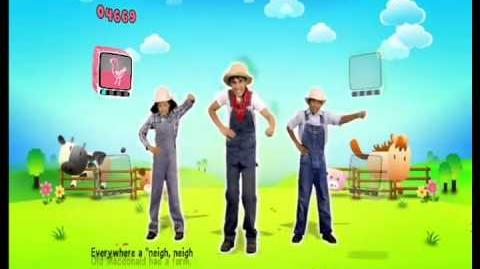 Just Dance Kids Old MacDonald Had A Farm