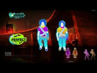 Just Dance 3 DLC Jump
